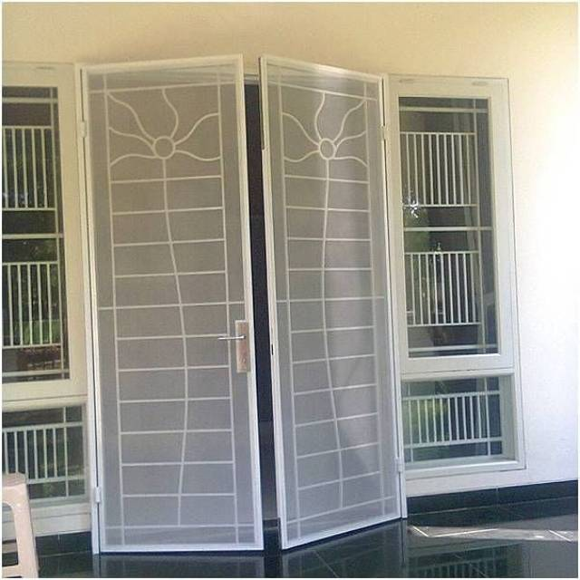 Tralis/tralis jendela/tralis pintu/tralis pintu kasa nyamuk/tralis  minimalis | Shopee Indonesia