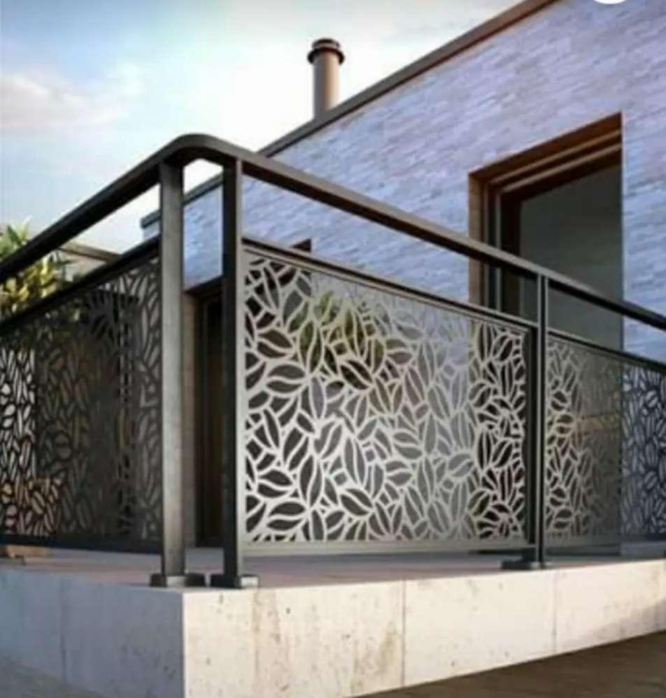 RELLING TANGGA. BALKON. PAGAR motif - Konstruksi dan Taman - 811235683
